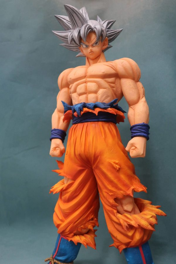 SON GOKU ULTRA INSTINCT GRANDISTA FIGURINE DBZ RESOLUTION OF SOLDIERS 28 CM (4) 3296580813247 kingdom-figurine.fr