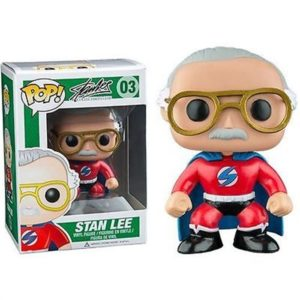 STAN LEE SUPER HEROE FIGURINE - STANLEE COLLECTIBLES.COM - FUNKO - POP 03 – 849803074074 – kingdom-figurine.fr