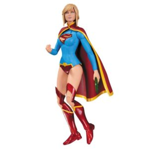 SUPERGIRL FIGURINE - DC COMICS - THE NEW 52 - DC COLLECTIBLES - 17 CM – (1) - 761941320120 – kingdom-figurine.fr