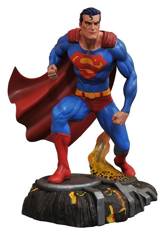SUPERMAN STATUE - DC GALLERY - DIAMOND SELECT TOYS - 25 CM – (1Bis) - 699788828182 – kingdom-figurine.fr