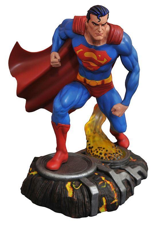 SUPERMAN STATUE - DC GALLERY - DIAMOND SELECT TOYS - 25 CM – (2) - 699788828182 – kingdom-figurine.fr