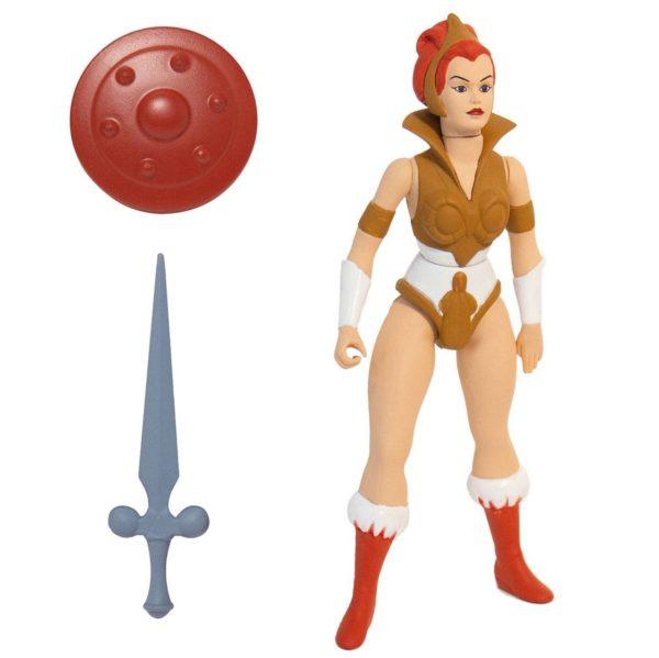 TEELA FIGURINE - MOTU - VINTAGE COLLECTION - SUPER7 - 14 CM – (1) - kingdom-figurine.fr