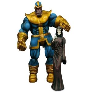 THANOS FIGURINE - MARVEL - DIAMOND SELECT TOYS - 20 CM – (1Bis) - 699788107799 – kingdom-figurine.fr