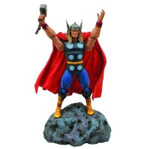 THOR (CLASSIC) FIGURINE - MARVEL - DIAMOND SELECT TOYS - 18 CM – 699788179079 – (1Bis) - kingdom-figurine.fr