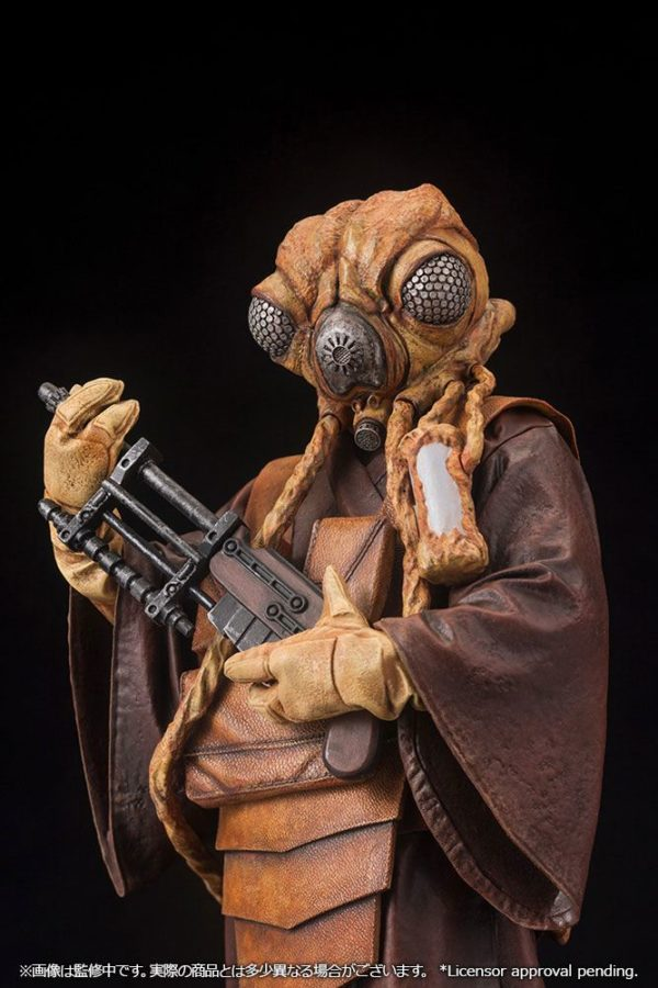 ZUCKUSS BOUNTY HUNTER STATUE - ARTFX+ - 1-10 - STAR WARS - KOTOBUKIYA - 17 CM – (10) - 4934054903856 – kingdom-figurine.fr