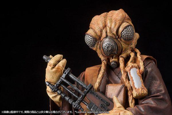 ZUCKUSS BOUNTY HUNTER STATUE - ARTFX+ - 1-10 - STAR WARS - KOTOBUKIYA - 17 CM – (11) - 4934054903856 – kingdom-figurine.fr