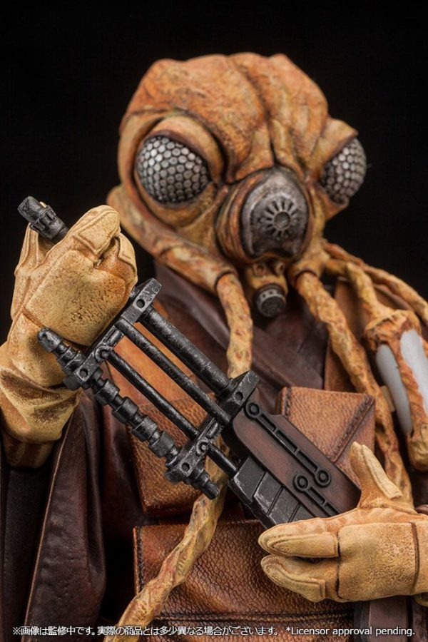 ZUCKUSS BOUNTY HUNTER STATUE - ARTFX+ - 1-10 - STAR WARS - KOTOBUKIYA - 17 CM – (12) - 4934054903856 – kingdom-figurine.fr