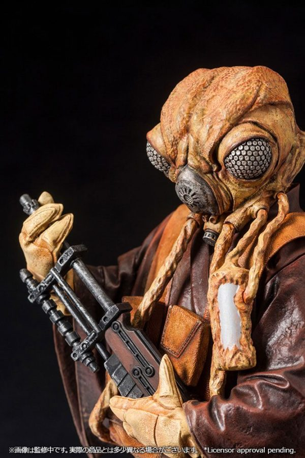 ZUCKUSS BOUNTY HUNTER STATUE - ARTFX+ - 1-10 - STAR WARS - KOTOBUKIYA - 17 CM – (14) - 4934054903856 – kingdom-figurine.fr