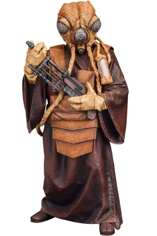 ZUCKUSS BOUNTY HUNTER STATUE - ARTFX+ - 1-10 - STAR WARS - KOTOBUKIYA - 17 CM – (1Bis) - 4934054903856 – kingdom-figurine.fr