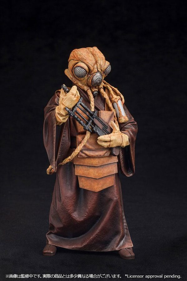 ZUCKUSS BOUNTY HUNTER STATUE - ARTFX+ - 1-10 - STAR WARS - KOTOBUKIYA - 17 CM – (3) - 4934054903856 – kingdom-figurine.fr