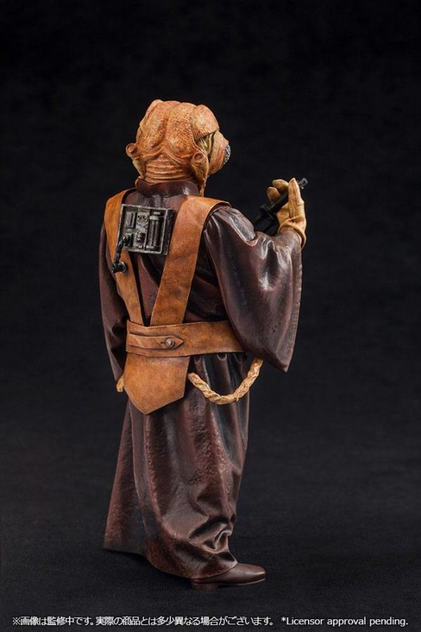 ZUCKUSS BOUNTY HUNTER STATUE - ARTFX+ - 1-10 - STAR WARS - KOTOBUKIYA - 17 CM – (5) - 4934054903856 – kingdom-figurine.fr