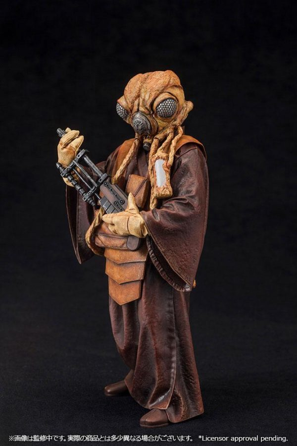 ZUCKUSS BOUNTY HUNTER STATUE - ARTFX+ - 1-10 - STAR WARS - KOTOBUKIYA - 17 CM – (8) - 4934054903856 – kingdom-figurine.fr
