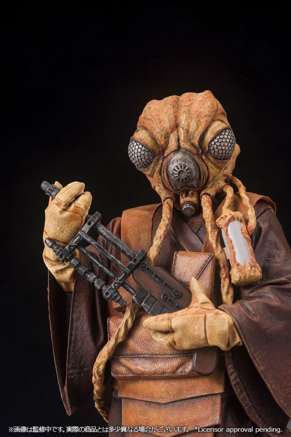 ZUCKUSS BOUNTY HUNTER STATUE - ARTFX+ - 1-10 - STAR WARS - KOTOBUKIYA - 17 CM – (9) - 4934054903856 – kingdom-figurine.fr
