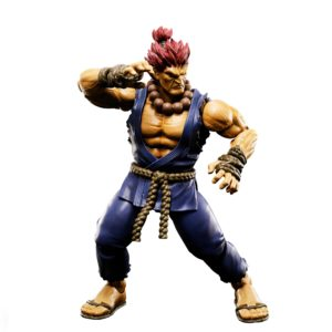AKUMA FIGURINE STREET FIGHTER V TAMASHII NATIONS 16 CM (1bis) 4549660192619 kingdom-figurine.fr