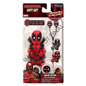 DEADPOOL GIFT SET MARVEL COMICS LIMITED EDITION NECA 634482614785 kingdom-figurine.fr