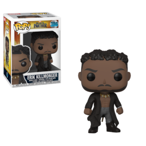 ERIK KILLMONGER FIGURINE BLACK PANTHER MOVIE FUNKO POP 386 – 889698331531 – kingdom-figurine.fr