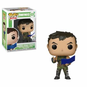HIGHRISE ASSAULT TROOPER FIGURINE FORTNITE POP GAMES 431 FUNKO 889698344654 kingdom-figurine.fr
