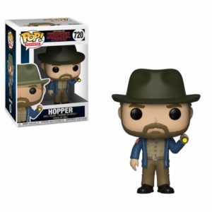 HOPPER WITH FLASHLIGHT FIGURINE STRANGER THINGS FUNKO POP TV 720 – 889698360395 – kingdom-figurine.fr
