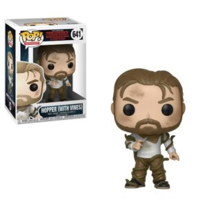 HOPPER WITH VINES FIGURINE STRANGER THINGS FUNKO POP TV 641 -889698310222- kingdom-figurine.fr