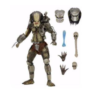 JUNGLE HUNTER PREDATOR ULTIMATE FIGURINE NECA 18 CM (1) 634482515488 kingdom-figurine.fr