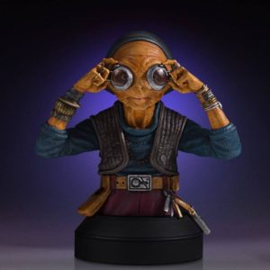MAZ KANATA BUSTE STAR WARS EPISODE VII GENTLE GIANT 14 CM (2) 814176021581 kingdom-figurine.fr