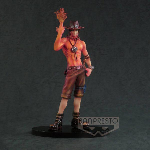 PORTGAS D. ACE BURNING COLOR FIGURINE ONE PIECE SCultures BANPRESTO 19 CM (2) 3296580269013 kingdom-figurine.fr