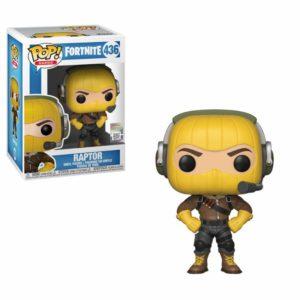 RAPTOR FIGURINE FORTNITE POP GAMES 436 FUNKO 889698368230 kingdom-figurine.fr