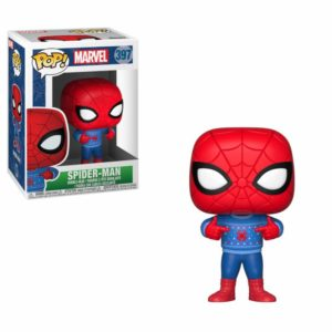 SPIDER-MAN (UGLY SWEATER) FIGURINE MARVEL HOLIDAY FUNKO POP 397 – 889698339834 – kingdom-figurine.fr