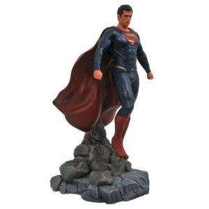 SUPERMAN STATUE DC MOVIE GALLERY DIAMOND SELECT TOYS 23 CM (1) 699788828038 kingdom-figurine.fr