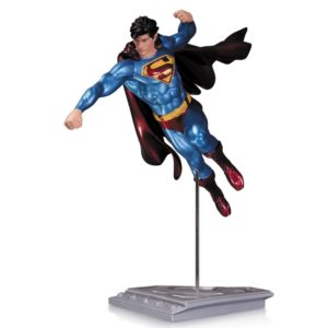SUPERMAN THE MAN OF STEEL BY SHANE DAVIS STATUE DC COLLECTIBLES 21 CM (1) 761941320175 kingdom-figurine.fr