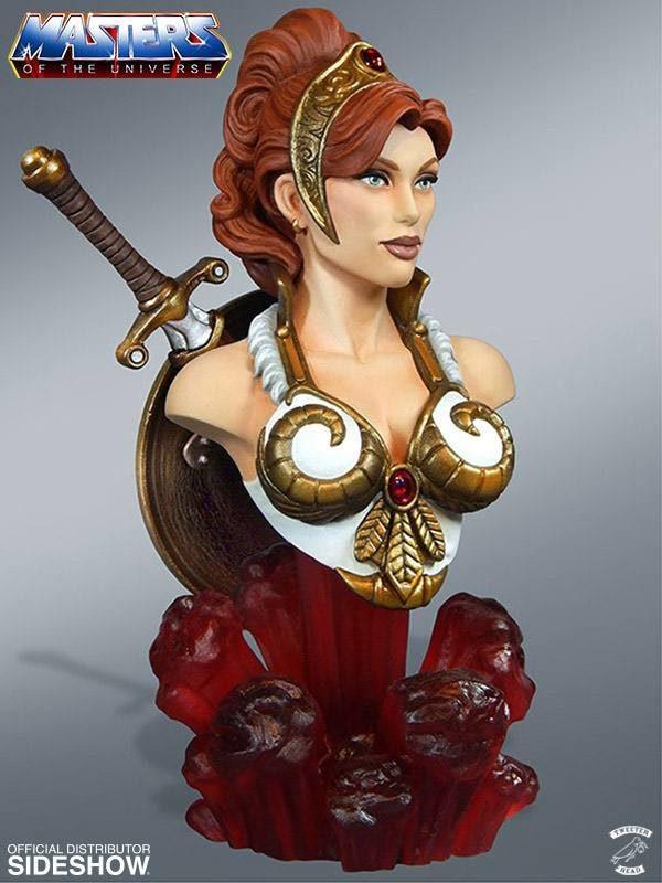 TEELA BUSTE LES MAÎTRES DE L'UNIVERS TWEETERHEAD 18 CM 040232262982 (2) kingdom-figurine.fr