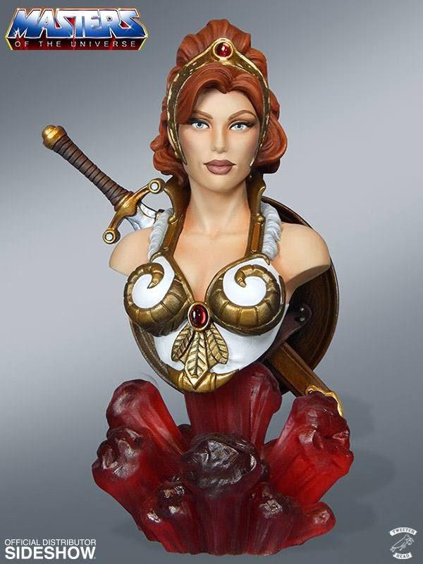TEELA BUSTE LES MAÎTRES DE L'UNIVERS TWEETERHEAD 18 CM (1bis) 040232262982 kingdom-figurine.fr