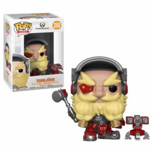 TORBJÖRN FIGURINE OVERWATCH FUNKO POP GAMES 350 – 889698322782 – kingdom-figurine.fr