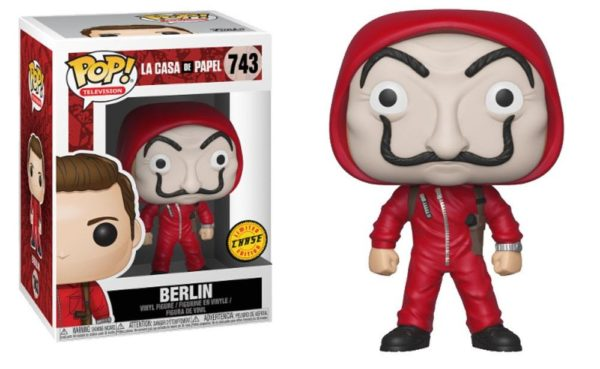 BERLIN FIGURINE LA CASA DE PAPEL CHASE EDITION FUNKO POP TV 743 – (2) - 889698344982 – kingdom-figurine.fr