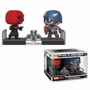 CAPTAIN AMERICA & RED SKULL PACK 2 FIGURINES MARVEL FUNKO POP 389 – (1bis) 889698328807 – kingdom-figurine.fr