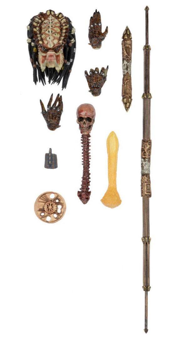 CITY HUNTER PREDATOR ULTIMATE FIGURINE PREDATOR 2 NECA 18 CM (1bis) 634482515495 kingdom-figurine.fr