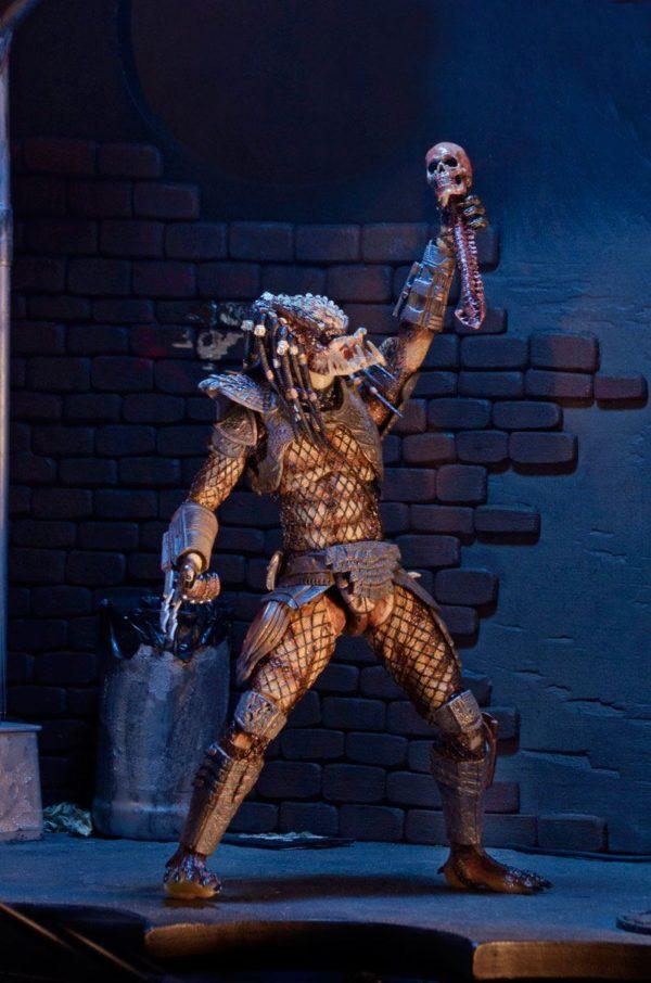 CITY HUNTER PREDATOR ULTIMATE FIGURINE PREDATOR 2 NECA 18 CM (5) 634482515495 kingdom-figurine.fr