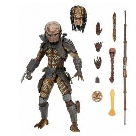 CITY HUNTER PREDATOR ULTIMATE FIGURINE PREDATOR 2 NECA 18 CM 634482515495 kingdom-figurine.fr
