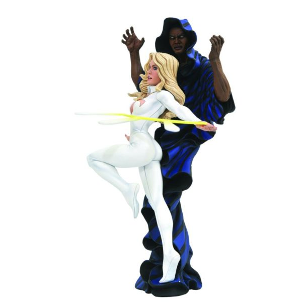 CLOAK & DAGGER STATUE MARVEL COMICS GALLERY DIAMOND SELECT TOYS 23 CM (1) 699788829349 kingdom-figurine.fr