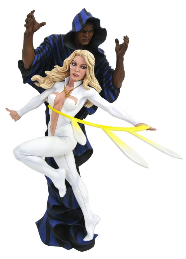 CLOAK & DAGGER STATUE MARVEL COMICS GALLERY DIAMOND SELECT TOYS 23 CM (1Bis) 699788829349 kingdom-figurine.fr