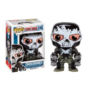 CROSSBONES FIGURINE MARVEL CIVIL WAR POP 134 FUNKO 849803075033 kingdom-figurine.fr