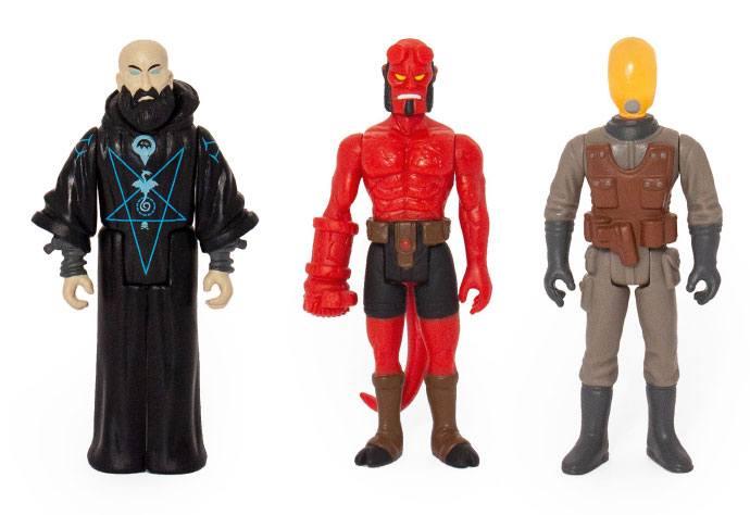 Pack 3 figurines Hellboy