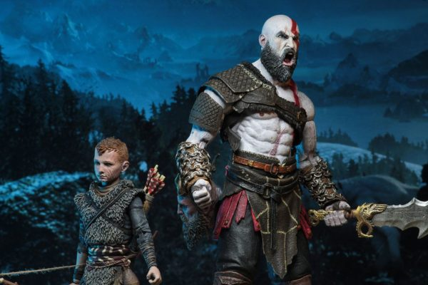 KRATOS & ALTEUS PACK 2 FIGURINES ULTIMATE GOD OF WAR (2018) NECA 13-18 CM (3) 634482493267 kingdom-figurine.fr