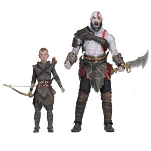 KRATOS & ALTEUS PACK 2 FIGURINES ULTIMATE GOD OF WAR (2018) NECA 13-18 cm (1) 634482493267 kingdom-figurine.fr