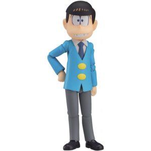 MATSUNO OSOMATSU FIGURINE OSOMATSU-SAN FIGMA ORANGE ROUGE 12 CM (1) 4545784064191 kingdom-figurine.fr