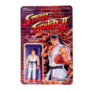 RYU FIGURINE STREET FIGHTER II WAVE 1 RE-ACTION SUPER7 10 CM 605930564365 kingdom-figurine.fr