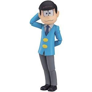 TODOMATSU MATSUNO FIGURINE OSOMTSU-SAN FIGMA ORANGE ROUGE 12 CM (1) 4545784064245 kingdom-figurine.fr