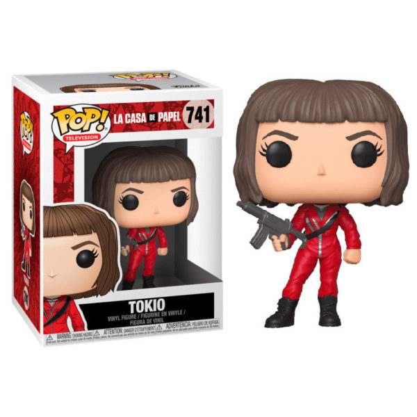 TOKIO FIGURINE LA CASA DE PAPEL FUNKO POP TV 741 – (1) - 889698344883 – kingdom-figurine.fr