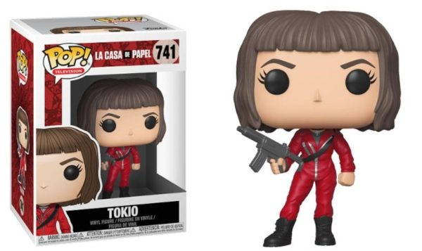 TOKIO FIGURINE LA CASA DE PAPEL FUNKO POP TV 741 – 889698344883 – kingdom-figurine.fr