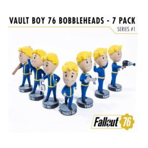VAULT BOYS PACK 7 FIGURINES BOBBLE HEADS FALLOUT 76 SERIE 1 GAMING HEADS 13 CM (1) 5060254182650 kingdom-figurine.fr
